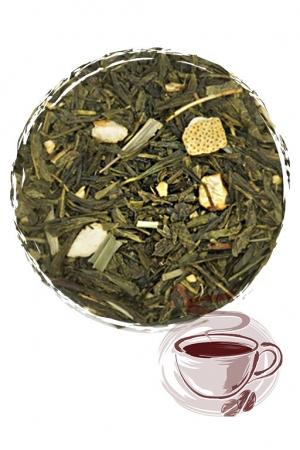 """Зеленый чай """"Имбирный"""""""
