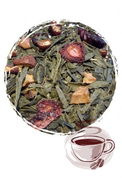 """Зеленый чай """"Элис Green сенча"""""""