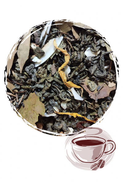 """Зеленый чай """"Гинкго Билоба"""""""