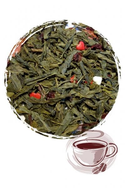 """Зеленый чай """"Клубничный твист"""""""