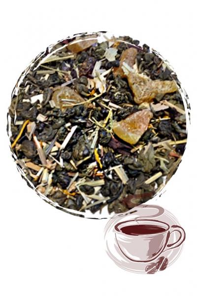 """Зеленый чай """"Зеленый с дыней"""""""