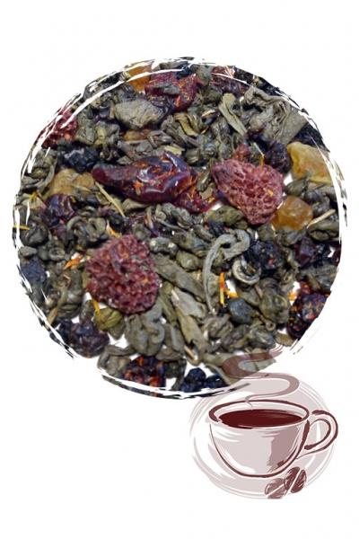 """Зеленый чай """"Лесная Ягода"""""""